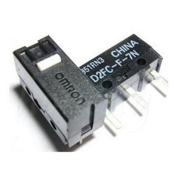 10PCS Micro Switch Microswitch D2FC-F-7N for APPLE RAZER Logitech Mouse UK