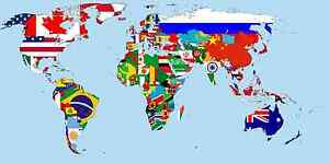 Image Is Loading World Flags 3 X 2 Ft Country Pirate
