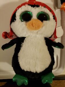 "MINT with MINT TAG MEDIUM TY BEANIE BOOS FREEZE the 9/"" HOLIDAY PENGUIN"
