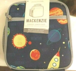 Pottery Barn Solar System Lunch Box School Space Planet