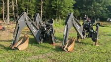 Bradco 509 Hydraulic Skid Steer Backhoe Attachment With Bucket