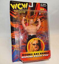 """6""""  WCW Double Axe Handle Diamond Dallas Action Figure Wrestler"""