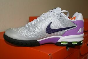 Details about Nike Women's Air Max Cage Tennis Shoe Style #554874055