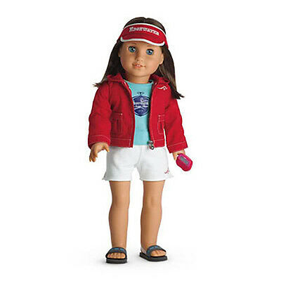 Doll Is Not Included! American Girl Chrissa/'s Warm-Up Swim Sports Set NIB