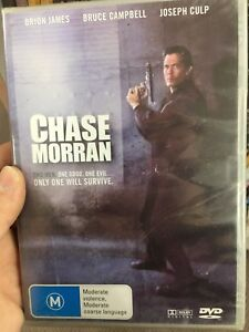 Chase-Morran-NEW-sealed-region-4-DVD-1996-Bruce-Campbell-sci-fi-movie-rare