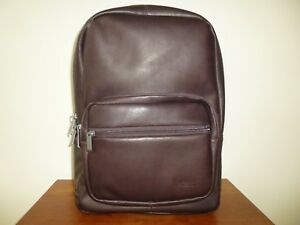 b7e988211 Kenneth Cole Ahead Of The Pack Columbian Leather Computer Backpack ...