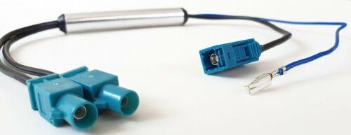 Phantomeinspeisung doppel Fakra männlich weiblich Antennen Verstärker Adapter