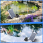 thumbnail 2 - Lewisia 5W Solar Air Pump Kit Battery With Air Hoses And Bubble Stones 3 Modes