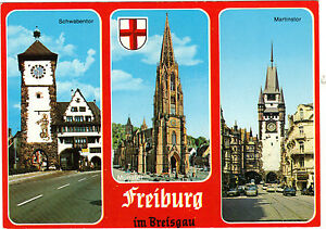 Alemania-TARJETA-POSTAL-Friburgo-de-Brisgovia
