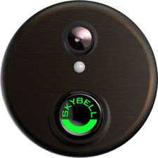 'SkyBell HD Wi-Fi 1080p Video Doorbell - Bronze (SH02300BZ)' from the web at 'https://i.ebayimg.com/images/g/7zgAAOSw0hlZseaY/s-l225.jpg'