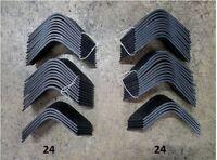 Full Set Of Tiller Tines For John Deere 680 Tiller Pt8444 & Pt8445 24 Each Lh&rh
