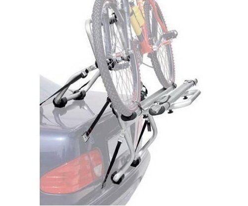 BICYCLE RACK BIKE REAR MOUNTED CARRIER ALUMINUM MODEL PADOVA 2 BIKE WITH TRACKS