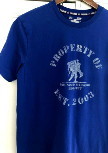 Under Armour Wounded Warrior Project WWP Blue Tee