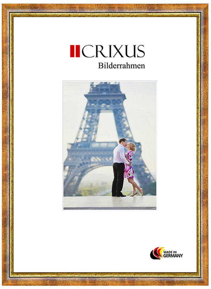 Crixus40 Vero Legno Cornici Antico Ocra oro Barocco Barocco Barocco da Fotografia B_85-453 7cefd7