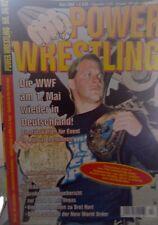 Power Wrestling 04/2002 WWE WWF TNA + 4 Poster (M. Hardy, Raven, Rock)