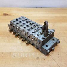 Lubriquip 8 Port Hydraulic Manifold 4 Msp 15t 1 Msp 35s 2 Msp 40s