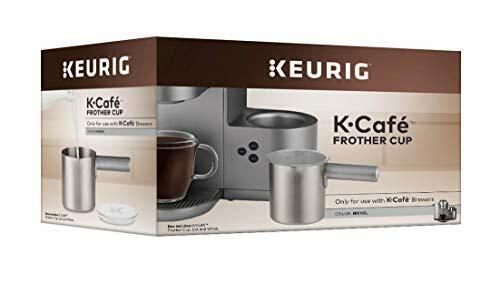 Dark Charcoal Keurig K-Cafe Single-Serve K-Cup Coffee Maker Milk ...