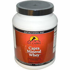 """MT. CAPRA MINERAL GOAT WHEY-1440G- 50.8 OZ.""""GREAT HEALTH BENEFITS""""FREE SHIPPING"""