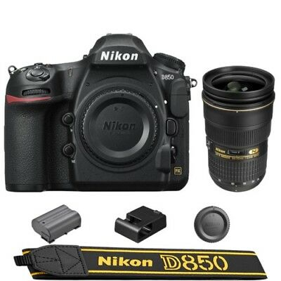 Nikon D850 DSLR Camera + AF-S NIKKOR 24-70mm f/2.8G ED Lens