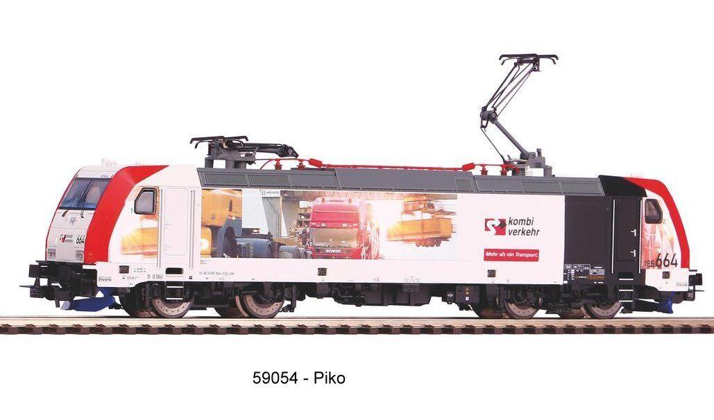 Piko 59054-e-Lok 185.2 transporte combinado-corriente alterna versión nuevo