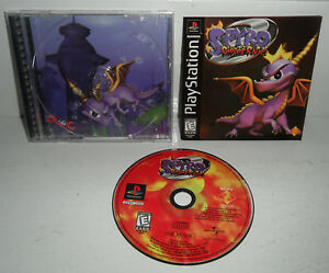 VG-FOIL-COVER-Sony-PlayStation-1-Game-SPYRO-2-RIPTO-039-S-RAGE-PS1-Complete-CIB