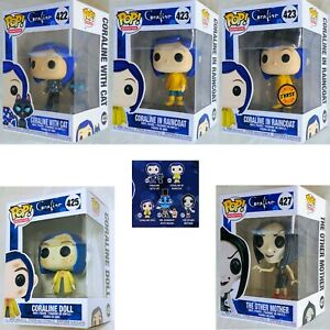 Coraline Movie Coraline With Cat Buddy Raincoat Doll Other Mother Pop Figures Ebay