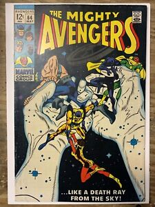 The Avengers #64/Silver Age Marvel Comic Book/FN-VF