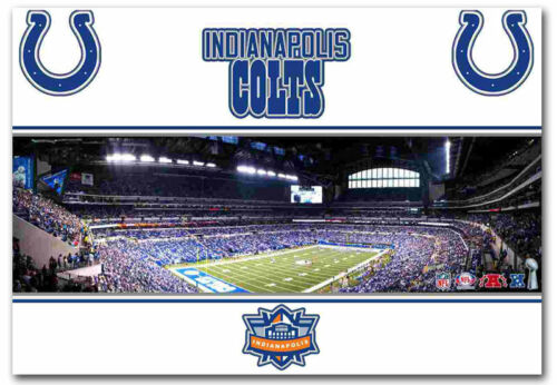 """Indianapolis Colts Lucas Oil Stadium Refrigerator Magnets Size 2.5/"""" x 3.5/"""""""
