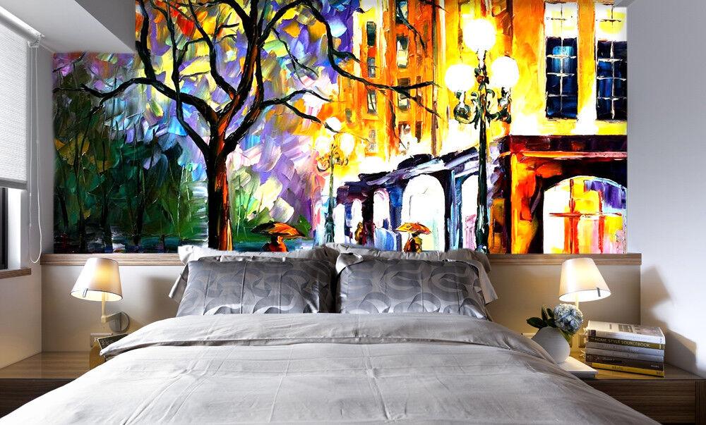 3D Paint Street 599 Wallpaper Murals Wall Print Wallpaper Mural AJ WALL UK Lemon