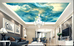 3D Abstract Sky 784  Ceiling Wall Paper Print Wall Indoor Wall Murals CA Lemon