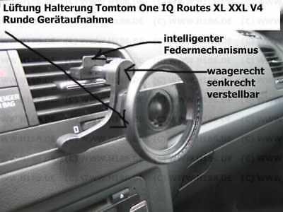 Fiducioso #293 Adatto Tomtom One Iq Routes Xl Xxl V4 Supporto Ventilazione Meccanismo A Molla-us It-it