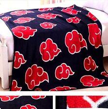 FD4325* Japanese Anime Naruto Akatsuki Soft Warm Coral Fleece Plush ThrowBlanket