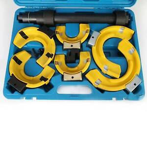 Coil Spring Compressor MacPherson Struts Shocks Springs 3 x Interchangable Yokes