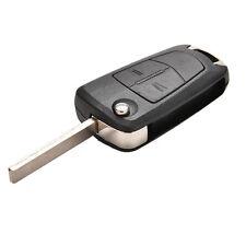 2 Button Remote Flip Key Fob Case For Vauxhall Opel Corsa Astra Vectra Zafira5HU