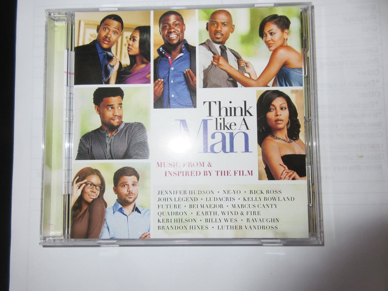 Think LIke A Man , Music From & Inspired By The Film ,