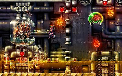 Super Metroid Brain Cell - Amazing Poster - 34 in x 22 in ( Fast shipping )