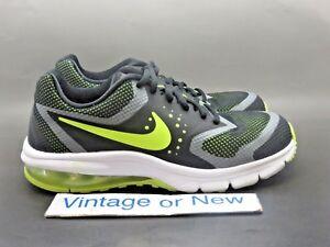 53ceb34f3eb Nike Air Max Premiere Run Black Volt Silver Running Shoes GS 716791 ...