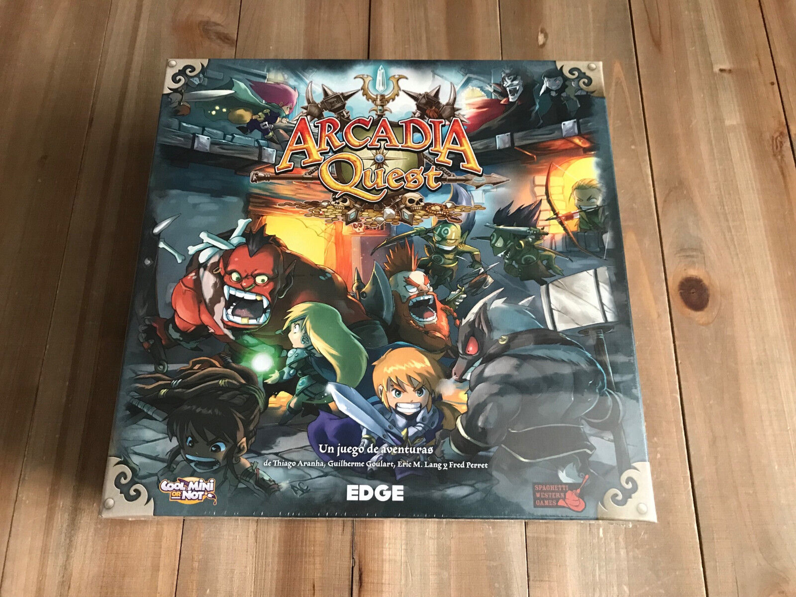 ARCADIA QUEST - Box Basic - Set table - EDGE - CMON - Sealed