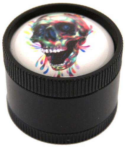 "12 1.2/""  Pretty Crystal Ball Skull Design Grinder USA SELLER 15430SK"