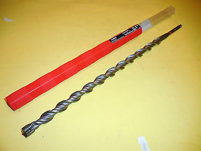 52 TE-CX HIlti 6 inch long concrete hammer drill bit sds 9//16