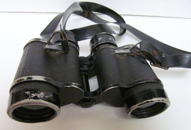 LUNA VINTAGE BINOCULARS COATED OPTICS 2899-7x35 WIDE ANGLE 525 FT @ 1000 YDS