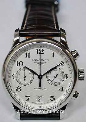 L26694783 Longines Master Collection Men's Watch Automatic Brown Leather 38mm