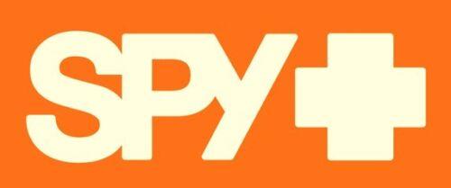 "SPY OPTICS GOGGLES /& SUNGLASSES LARGE 6/"" x 2.75/"" ORANGE WHITE LOGO STICKER//DECAL"