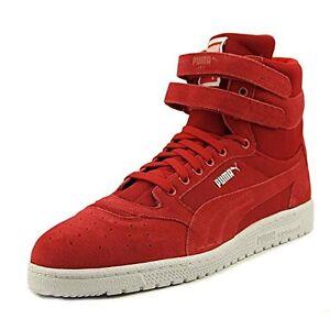 Pumas Coeur Salut Ll Homme Ciel Chaussures Rouges 8,5