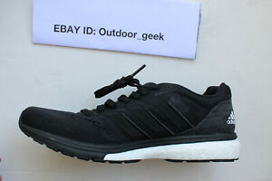 NWT-Adidas-Adizero-Boston-7-Boost-Women-039-s-Running-Shoe-Black-B37387-Size-8