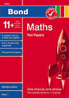 Bond 11+ Test Papers Maths Multiple-Choice Pack 1 by Andrew Baines (Paperback, 2007)