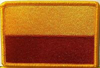 Bogota Colombia Flag Iron-on Patch Military Emblem Gold Border