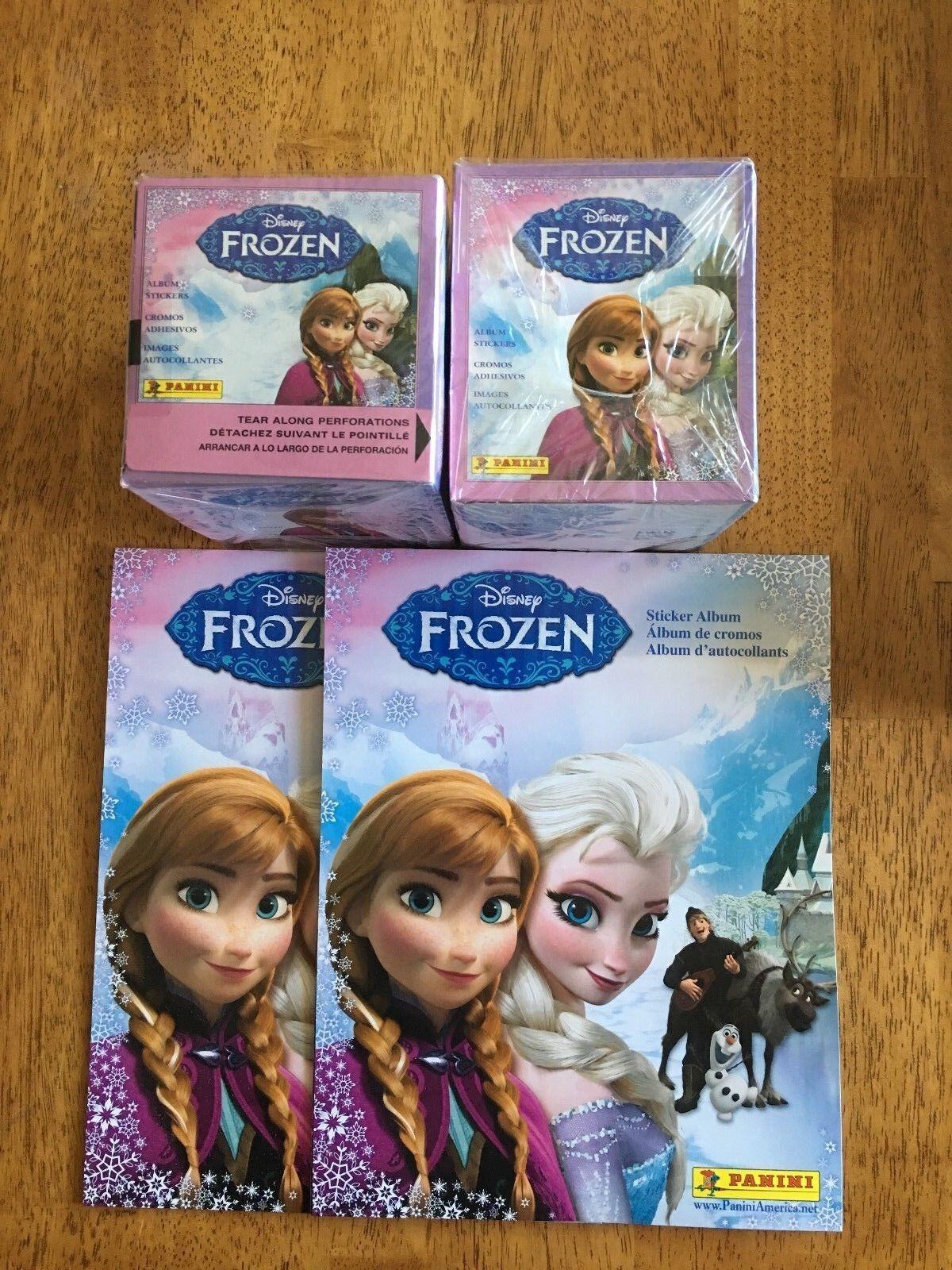 Top!!! versión de Estados Unidos Album 50 bolsas-box Panini Frozen-Frozen 2013