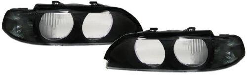 2 GLACE PHARE AVANT BLACK SX BMW SERIE 5 E39 BREAK 540 i 11//1995-08//2000