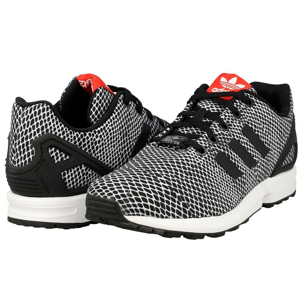 Adidas S82615 Torsion ZX Flux S82615 Adidas Black/White Running Men's Shoes Size 7 6cca84